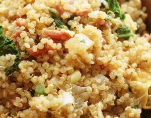 quinoa-bacon